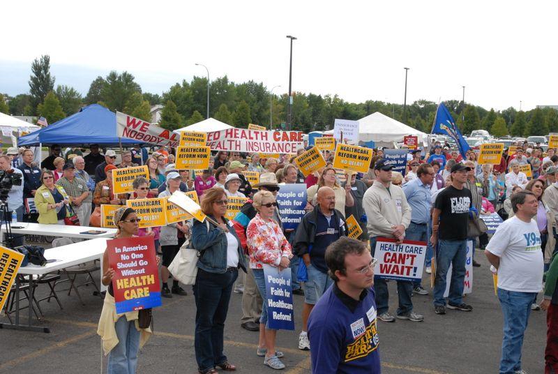 Health Care Reform Rally Fargo Dome 8-29-09