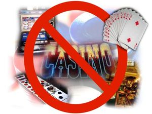 No gambling