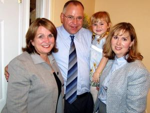 Elizabeth and the Walz Family