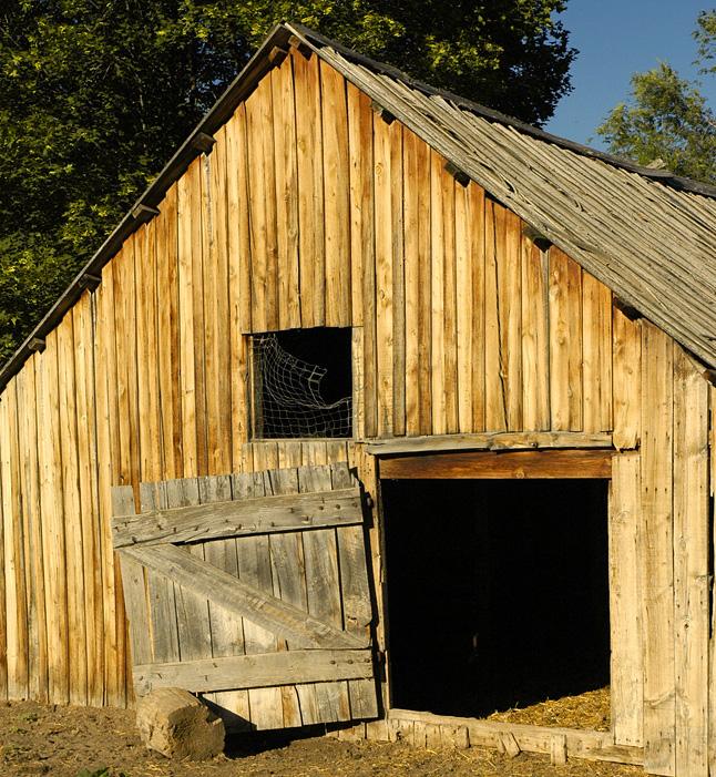 Barn-door-open
