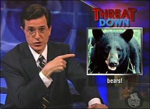 Colbert-bears-threatdown