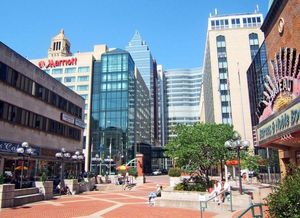 Downtown_Rochester,_MN-Peace_Plaza