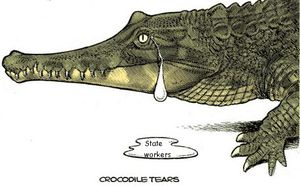 Aacrocodile-tears