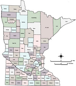 Minnesota-counties