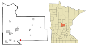 800px-Morrison_County_Minnesota_Incorporated_and_Unincorporated_areas_Royalton_Highlighted.svg