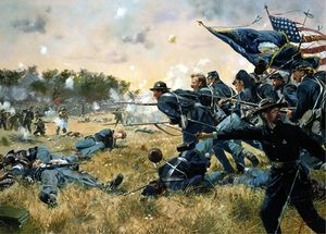 1stMinnesota_Gettysburg