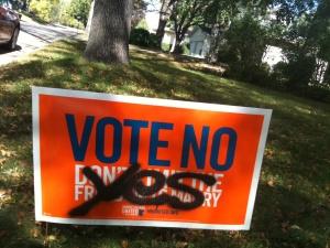 Vote-no-vandalized