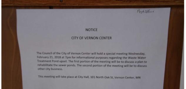 Vernoncenterpublicnotice
