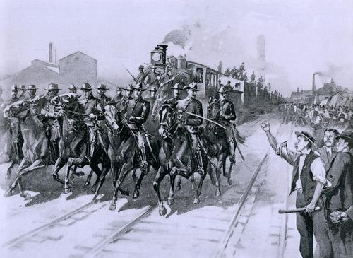 During-the-pullman-strike-of-1894-everett