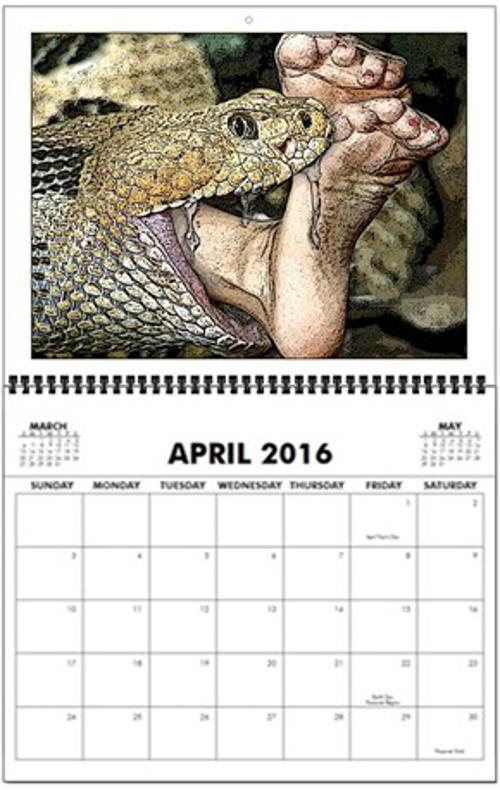 Snakebitingfeet_wall_calendar