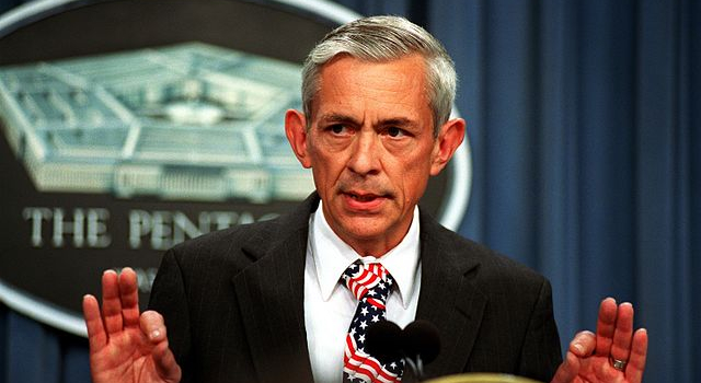 Craig_W._Duehring_during_a_Pentagon_press_briefing,_Sept._14,_2001