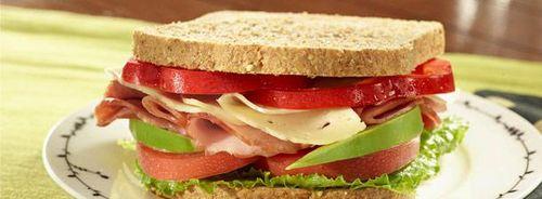Hamandcheesesandwich
