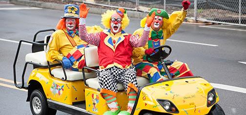 Parade-Clown-Car