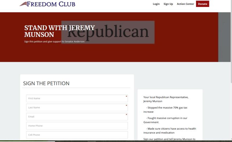 Freedomclubmunsonpage