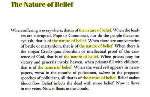 Natureofbelief