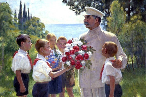 Boris-Vladimirski-Roses-for-Stalin-detail