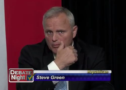 Stevegreendebatenight